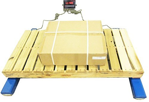 Optima Scale Heavy Duty Weigh 40 by 4-Inch Beam Floor Scale, 5000-Pound by 1-Pound