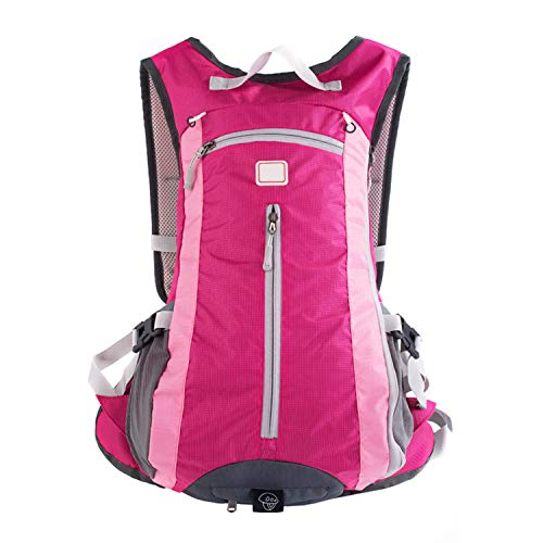 azhuang Outdoor Waterproof Ultralight Rucksack Cycling Bike Camping Climbing Hiking Backpack 15l 5 Colors,Rose,Other ()