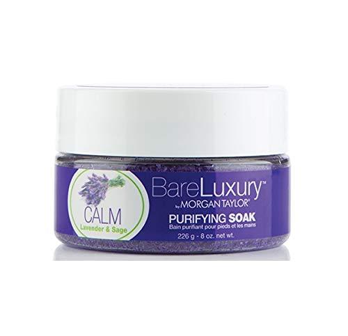 Morgan Taylor - BareLuxury - Lavender & Sage - Calm - Purifying Soak - 8oz by Morgan Taylor