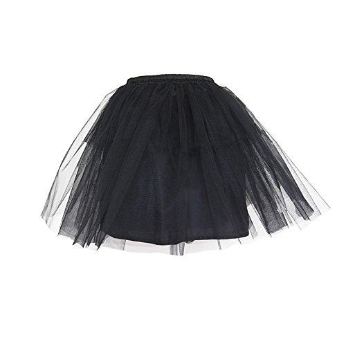 Devil Fashion Falda de gimnasia de vapor de las mujeres princesa falda mini burbuja Falda corta de verano falda de verano