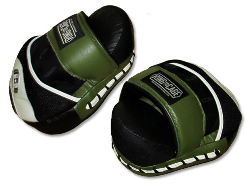 Deluxe Curved Punch Mitts - Professional Mitts for Boxing, Muay Thai, MMA, Kickboxing, Martial Arts