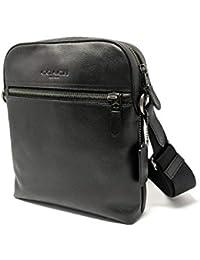 Houston Flight/Messenger Bag Smythe Leather (Black)