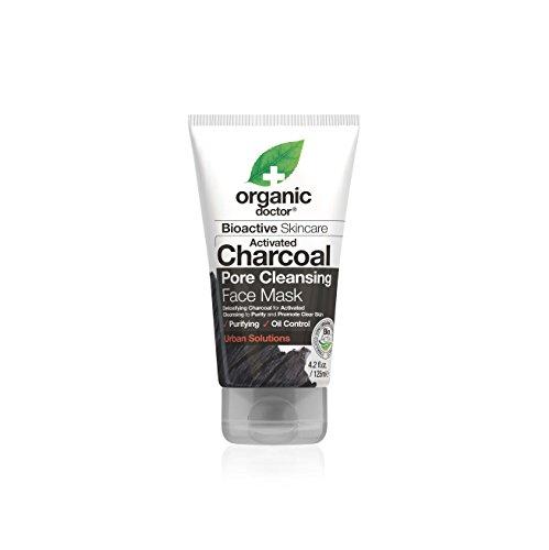 Organic Doctor Organic Charcoal Face Mask, 4.2 Fluid Ounce