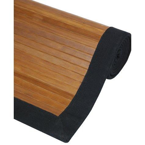 Oriental Furniture Bamboo Rug – Burnt Bamboo – 4 x 6