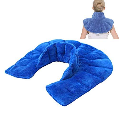 LIBINA - Cojines Térmicos Cuello calentado y envoltura de hombro, almohadilla de compresa caliente almohadilla de compresa...