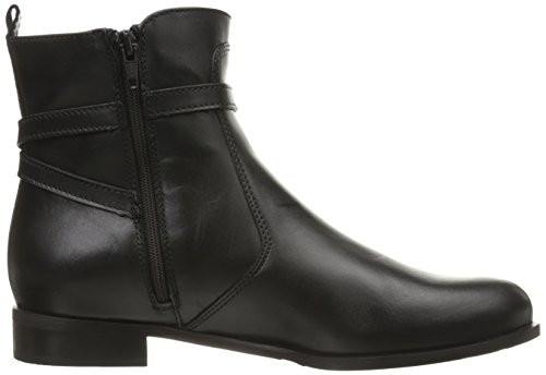 La Canadienne Women's Scarlet Boot Black Leather noFa07gTu