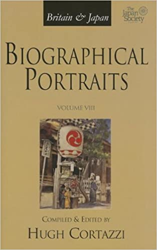 Britain and Japan: Biographical Portraits, Vol. VIII (Britain & Japan: Biographical Portraits)