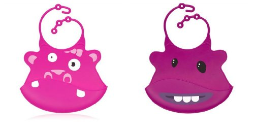 Ulubulu Silicone SillyBib Hippo Monster