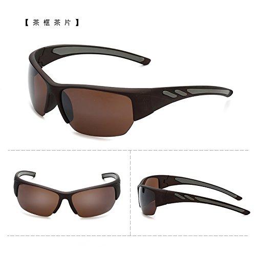 coupe - vent des bicyclettes motocyclettes lunettes de soleil à lunettes course sports de plein air des lunettes de soleil les hommes et les femmes marée lunettes de soleil le thé le thé boîte (sac)
