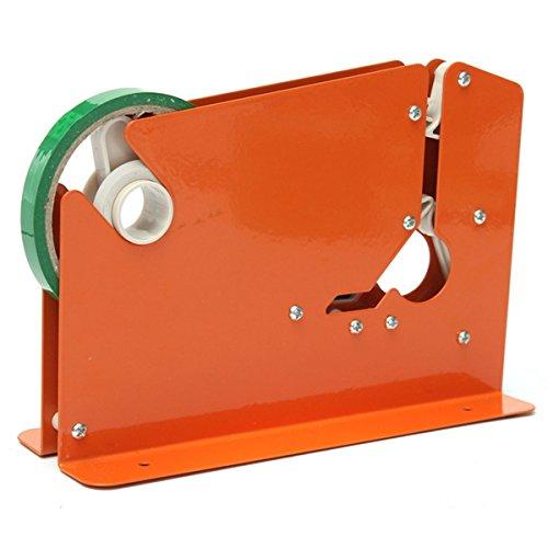 Metal Bag Neck Sealer Tape Dispenser with 6 Roll Tape 12mm for (Highland Gold Acrylics)