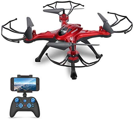 GoolRC T5W Wifi FPV Drone with Camera Live Video,Headless Mode & image