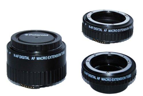 Polaroid Auto Focus DG Macro Extension Tube Set  For The Nik