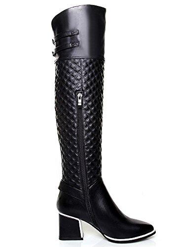 Nine SevenKnee-high-boots - Botas mujer negro
