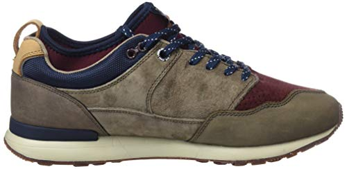 Para stag Marrón 884 Pack Lth Hombre Jeans Zapatillas Pepe Treck Btn cOCanqYq