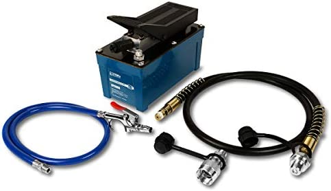 TEMCo HP0000 – Air Hydraulic Pump Power Pack Unit 10,000 psi 103 Cubic in Capacity – 5 Year Warranty