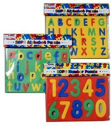 Alphabet & Numbers Foam Puzzle by DDI