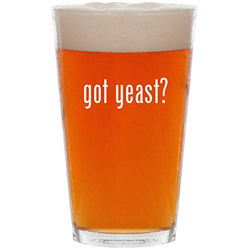 got yeast? - 16oz All Purpose Pint Beer Glass