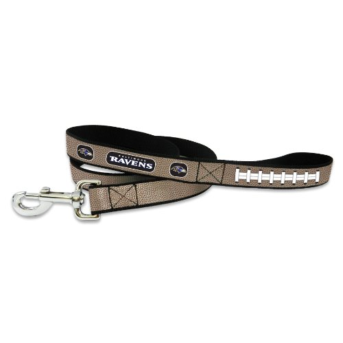 5' Small Bowl (GameWear NFL Baltimore Ravens Reflective Football Leash, Large)