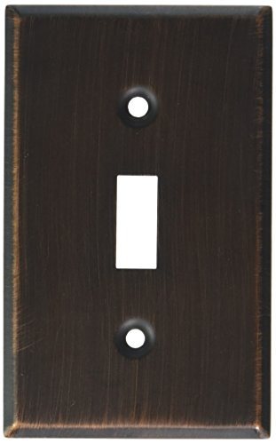 - MINTCRAFT 881-35-07-SOU Switch Plate Single, Venetian Bronze