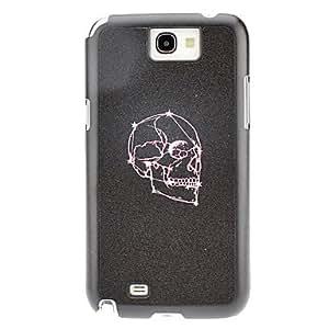 NEW Purple Skull Pattern Hard Case for Samsung Galaxy Note 2 N7100