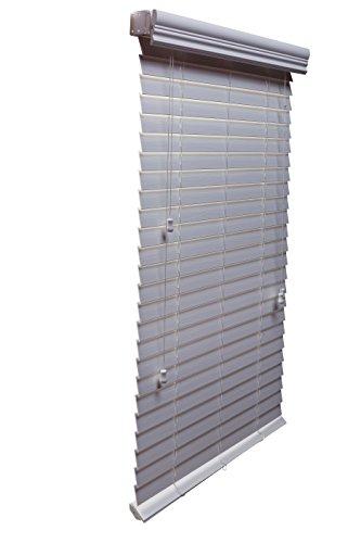 35 x 84 faux wood blinds - 8
