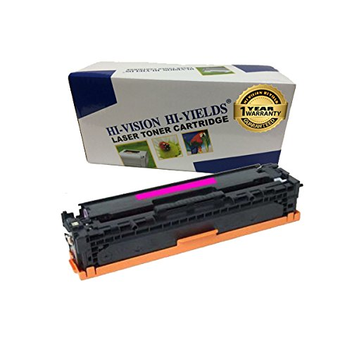 HI-VISION ® Compatible HP 305A, CE413A Magenta Toner Cartridge Replacement for LaserJet Pro 400 color MFP M475dn, MFP M475dw, M451dn, M451nw, M451dw, LaserJet Pro 300 color MFP M375nw