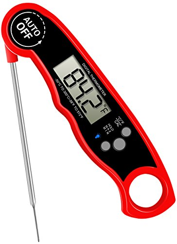 For Sale! GoldWorld FDA Meat Thermometer- Waterproof Food Thermometer with Stainless Steel Probe for...
