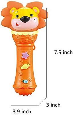 Bebé Micrófono Música Juguete Micrófono Inalámbrico para Niños Se Puede Conectar Al Teléfono Móvil del Bebé Cantando para Reproducir Karaoke,Lion: Amazon.es: Deportes y aire libre