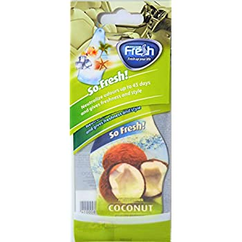 Fresh Way DF12 - Dry So fresh Air Freshener (Coconut) 6 pack