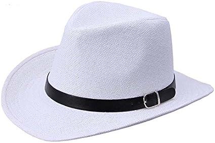 LOPILY Sombrero de Panamá Sombrero de Playa Sombrero para El Sol ...