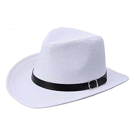 86c004f9df4cb Amazon.com  WOCACHI Vanlentine Day Hats and Caps Summer Men Straw Hat  Cowboy Hat 2019 Spring Under 5 Deals  Office Products