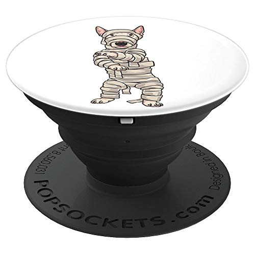 Bull Terrier Zombie Mummy Halloween PopSockets Grip - PopSockets Grip and Stand for Phones and -