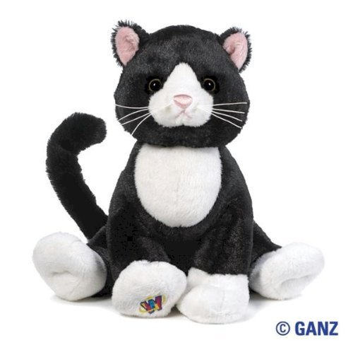 Webkinz Tuxedo Cat with Trading Cards