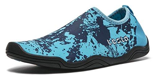 Tesla Männer Frauen & Kinder Slip-On Quick-Dry Minimal Strand Aqua Schuhe A101 / A102 TF-A102-BSB