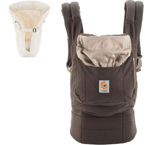 Ergobaby Organic Collection Dark Cocoa Baby Carrier with ...