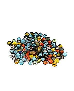 Advancedestore Marble Glass Playing Balls packof 200