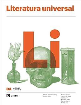 Literatura Universal BA (Código abierto): Amazon.es: Arévalo ...