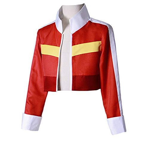 COSFLY Legendary Red Jacket Top Coat Cosplay Costumes Outfit (XX-Large, Female)