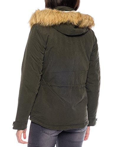 Fur Parka Aw Donna Verde Onlstarlight Otw Cc Only wqtxnEC6C
