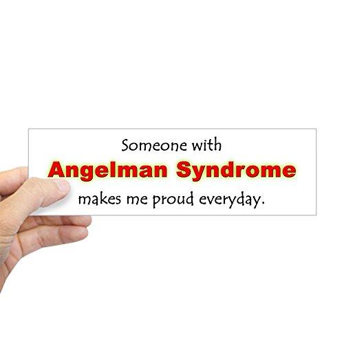 CafePress Angelman Syndrome Pride Bumper Sticker 10