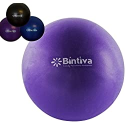 bintiva Mini Pilates Ball 7-9 Inch Stability Ball Used for Exercise Yoga Pilates and Therapy