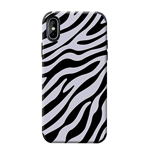 - CUSTYPE iPhone Xs Max Case with Zebra Design,Leather Soft Stylish Animal Print Protective Cover Case for Apple iPhone Xs Max 6.5 inch (2018 Released)-01