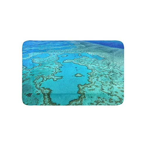 Australia Great Barrier Reef Coral Extra Large Bedding Soft Pet Dog Beds Couch for Puppy and Cats Furniture Mat Cave Pad Cover Cushion Indoor 36x23 Inch (Furniture Queensland Outdoor)