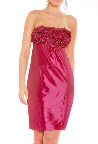 APART Damen Kleid Kleid 36 Größe mit Rüschen Violett FqFraHw