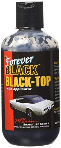 Forever Car Care Products FB813 BLACK Black Top Gel and Foam - Tops For Cars Convertible