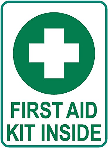 First Aid kit decal 4