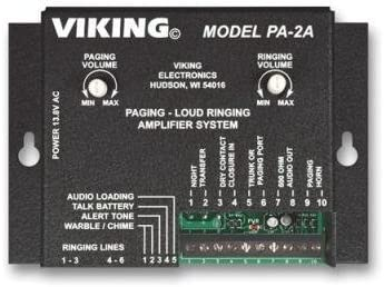 Viking – PA-2A – Paging Loud Ringing Amplifier for Multi-Lines