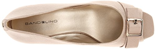 Bandolino Womens Golda Fabric Dress Pump Natural YDymcs