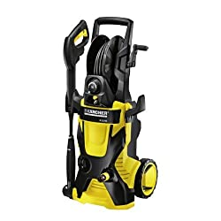 Karcher K 5.540 2000 PSI 1.4 GPM Electric Pressure Washer w/ Hose Reel & Detergent Tank, 25-Ft Hose
