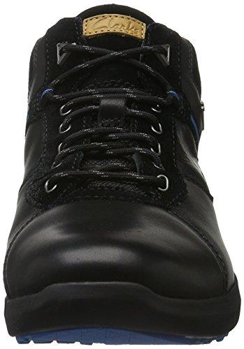 Clarks Triman up GTX, Stivaletti Uomo Nero (Black Leather)